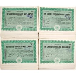 Goldfield Consolidated Mines Co. Stock Certs. (approx. 400 pieces)