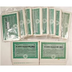 Goldfield Consolidated Mines Co. Stock Certs. (approx 1600 pieces)