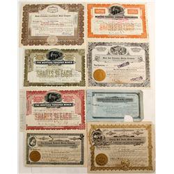 Tonopah Mining Stock Collection