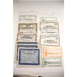 Comstock Stock Certificates (13)