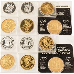 American Revolution Bicentennial Medals