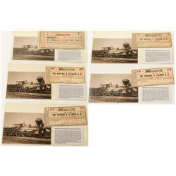 """The General"" Railway Scrip and Postcard Set"