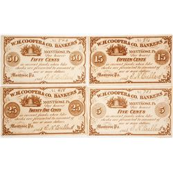 W.H. Cooper & Co. Bankers Scrip