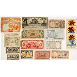 North Africa and Island Currencies