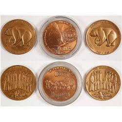 Three Western Medals