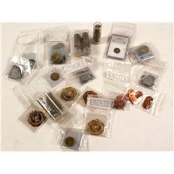 Tokens (200+) Includes 8 $50. Gold Slugs Replicas