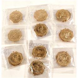 Gold Slug Replicas (20)