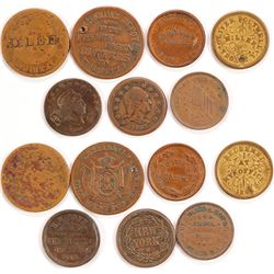 Group of Merchant Tokens