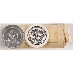 Roll of 1804 Silver Dollar Tokens