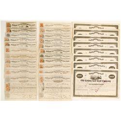 Boston & Providence & Old Colony Stock Certificates