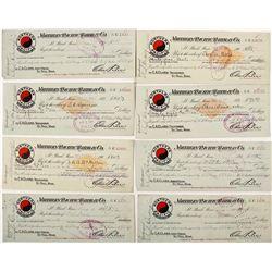 Northern Pacific Railway Checks (8)