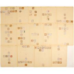 Colorado  Cut Square Postmarks