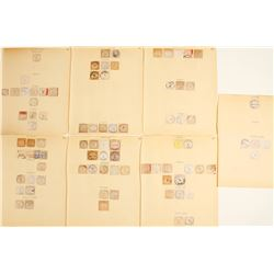 Montana Cut Square Postmarks