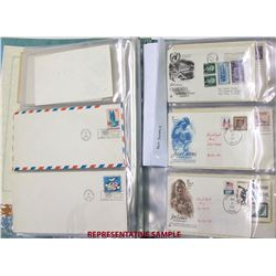 US First Day Covers, UN and Canada Covers Collection
