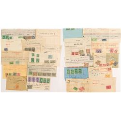 Official Revenue Stamped Documents: Nice set of New York Stock Transfer Stamps