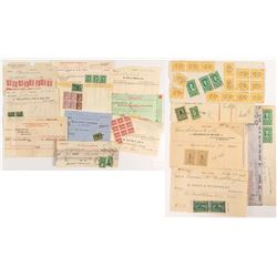 Official Revenue Stamped Documents: Some Nicer Stamps and Combinations