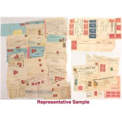 Official Revenue Stamped Documents: United States Stock Transfer and Document Stamps