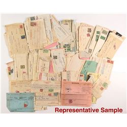 Official Revenue Stamped Documents: Unsorted Box
