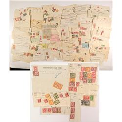 Official Revenue Stamped Documents: with Boston Stamps
