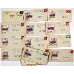 Rail, Bus and Air Flight Postmarks