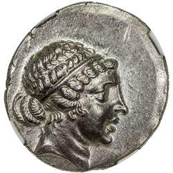 AEOLIA: AR tetradrachm (16.51g), ca. mid-2nd century BC. NGC MS
