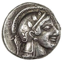 ATTICA: Anonymous, 449-413 BC, AR drachm (4.29g), Athens. EF