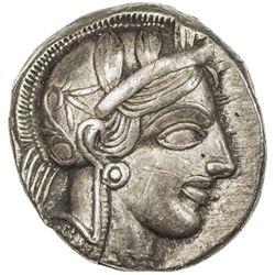 ATTICA: Anonymous, 449-413 BC, AR tetradrachm (17.18g), Athens. EF