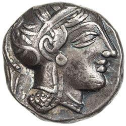 ATTICA: Anonymous, 449-413 BC, AR tetradrachm (17.09g), Athens. VF