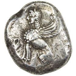 IONIAN ISLANDS: Chios: Anonymous, circa 400-380 BC, AR drachm (7.84g). VG-F