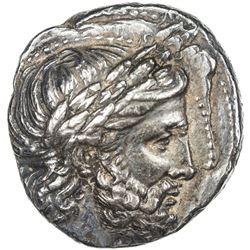 MACEDONIA: Philipp II, 359-336 BC, AR tetradrachm (14.45g), Pella. EF