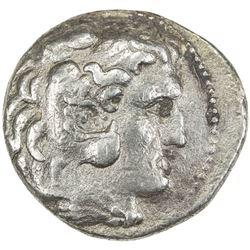 MACEDONIA: Alexander III, the Great, 336-323 BC, AR tetradrachm (16.09g). VF