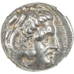 MACEDONIA: Alexander III, the Great, 336-323 BC, AR tetradrachm (17.13g). NGC VF