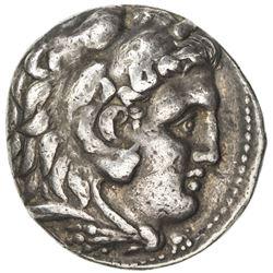 MACEDONIA: Alexander III, the Great, 336-323 BC, AR tetradrachm (17.10g), Babylon. VF