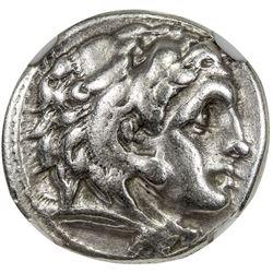 MACEDONIA: Philip III, 323-317 BC, AR drachm. NGC VF