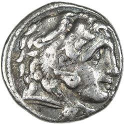 MACEDONIA: Phillip III, 323-317 BC, AR drachm (4.11g). F-VF