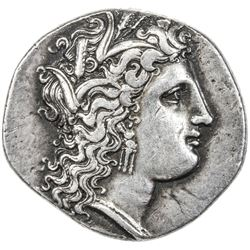 METAPONTION: AR stater (7.37g), ca. 330-300 BC. VF