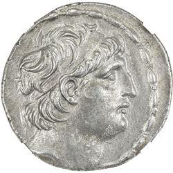 SELEUKID KINGDOM: Antiochos VII Euergetes, 138-129 BC, AR tetradrachm (15.90g). NGC AU