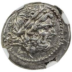 ROMAN REPUBLIC: AR victoriatus (2.78g), after ca. 211 BC. NGC AU