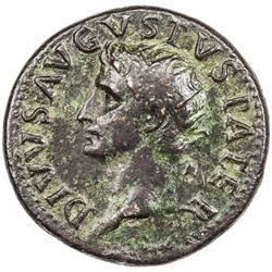ROMAN EMPIRE: Augustus, 27 BC-14 AD, AE dupondius (13.74g). VF