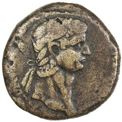 ROMAN EMPIRE: Claudius, 41-54 AD, AE sestertius (21.71g). F