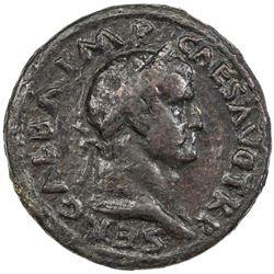 ROMAN EMPIRE: Galba, 68-69 AD, AE sestertius (25.66g). VG