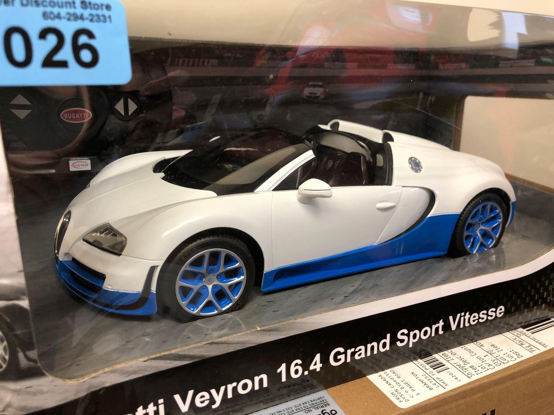 Rc Bugatti Veyron 16 4 Grand Sport Vitesse