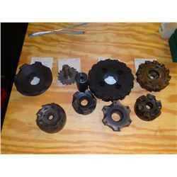 Lot of Indexable Milling Cutters