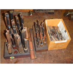 Lot of (41) Boring Cutters and Bits