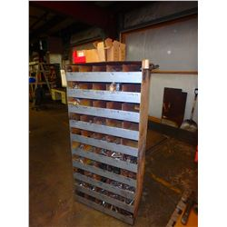 Bolt Cabinet with Contents - Dimension 34 x 16 x 61