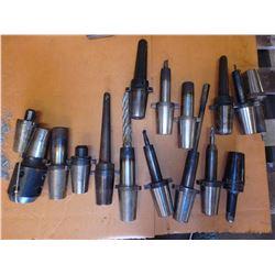 Lot of (16) Misc Kwik Switch Tool Holders -