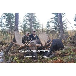 10- Day Canada Moose Hunt in British Columbia