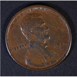 1909-S VDB LINCOLN CENT AU