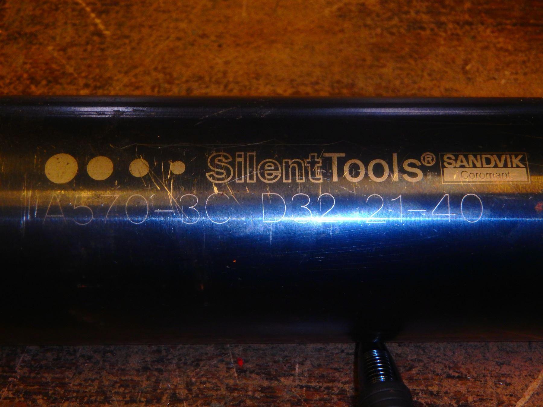 Sandvik Silent Tools Dampened Adaptive Boring Bar, P/N: A570-3C D32 21-40