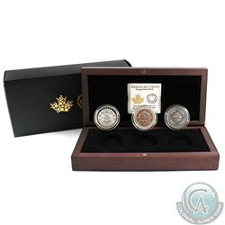 2015 Canada $25 Singing Moon Mask Fine Silver 3-Coin Set with COA (TAX Exempt)